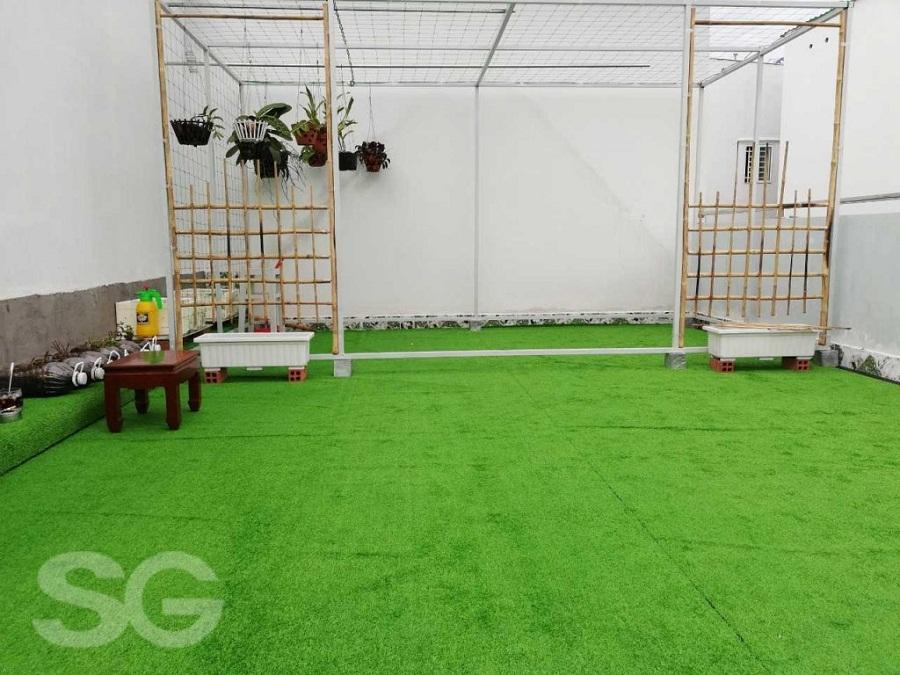 Thảm cỏ nhân tạo trải sàn