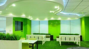 thảm cỏ nhân tạo lót sàn nhà
