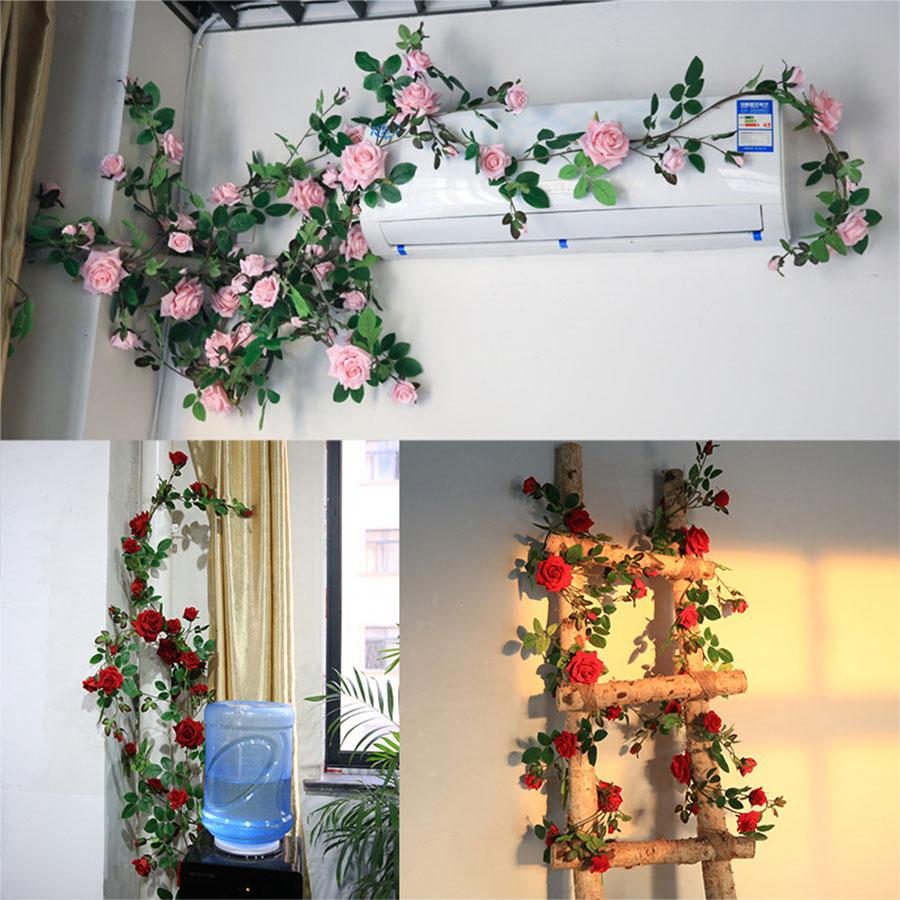 Dây hoa hồng treo tường