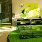 Thảm cỏ lót sàn nhà