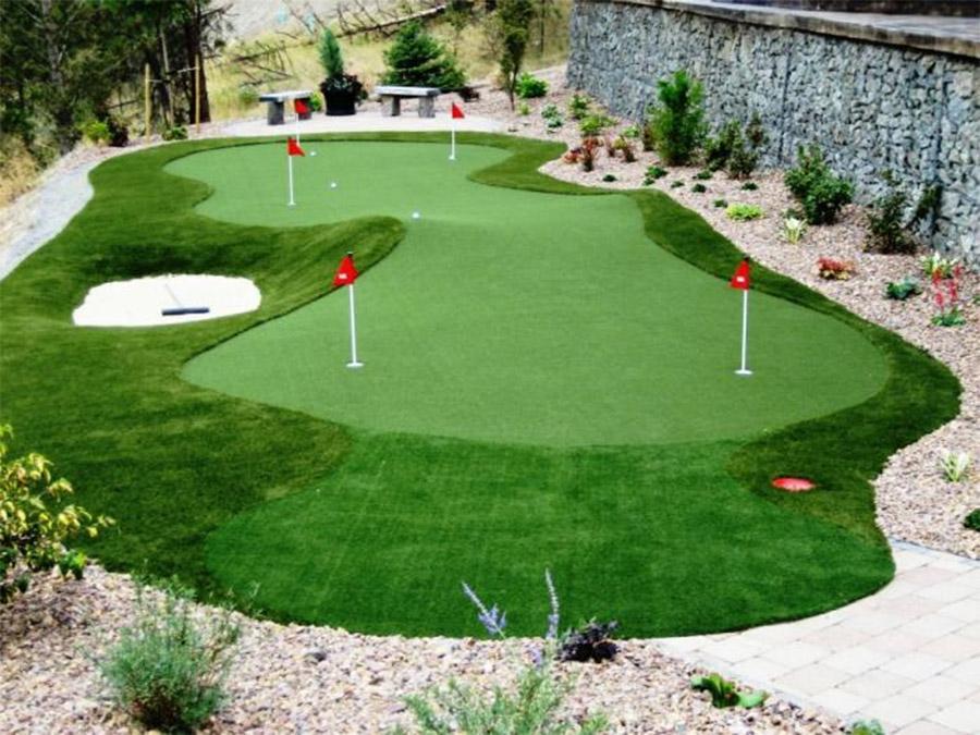 Thảm cỏ trang trí trên mọi địa hình và khả năng chống chịu thời tiết