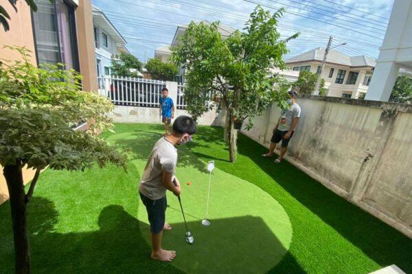 Công trình thi công sân golf tại quận 7