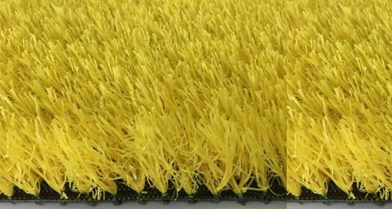Thảm cỏ nhân tạo màu vàng