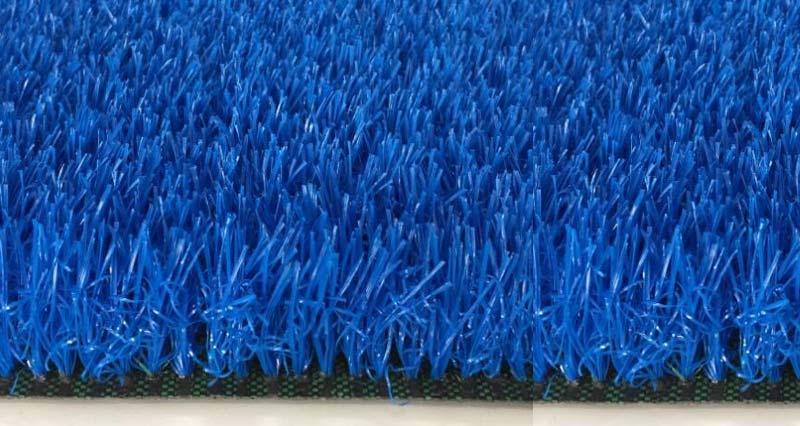 Thảm cỏ nhân tạo màu xanh dương