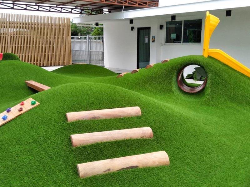 công trình cỏ nhân tạo
